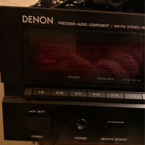 Denon Stereo receiver - 24hr SALE for Sale in Tucson, AZ