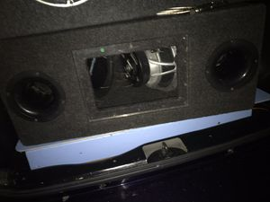 "2 NEW /10"" CRYSTAL MOBILE SOUNDS COMPETITION SUBWOOFER/ BANDPASS BOX for Sale in Norwalk, CA"