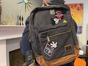 Loungefly Disney Mickey Mouse Backpack With Collectible Pin for Sale in Los Angeles, CA