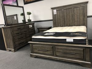 4PC Queen Bedroom Set on SALE 🔥 for Sale in Fresno, CA
