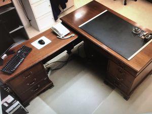 Secretary desk w/return for Sale in Rockville, MD