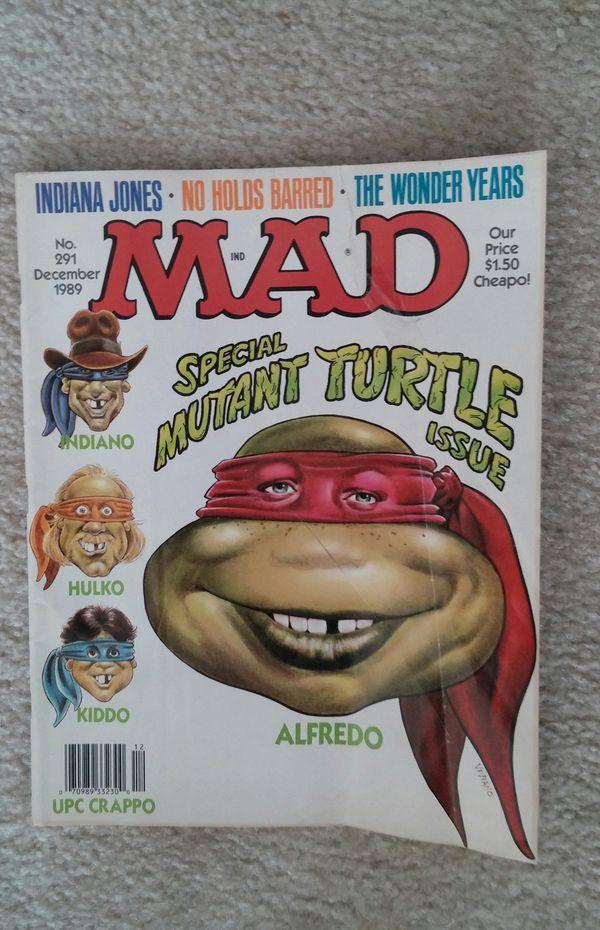 Older Mad Magazine's