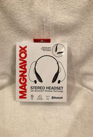 Magnavox Stereo Headset Bluetooth Wireless Tech. for Sale in Clermont, FL