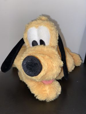 "Disney parks Exclusive 15"" Pluto plush for Sale in Bellflower, CA"