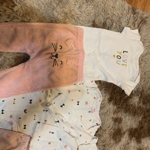 Babygirl Clothes Matching Carter Outfits BRAND NEW NEVER WORN. Size 12 Months, Winnie The Pooh Disney Dress Shirt for Sale in Cleveland, OH