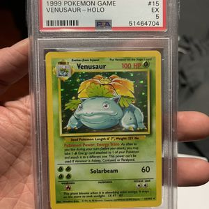 Pokemon Base Set Venusaur PSA 5 for Sale in Los Angeles, CA