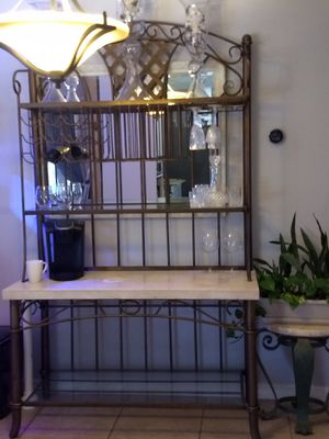 Wine or coffee bar/shelf for Sale in St. Petersburg, FL