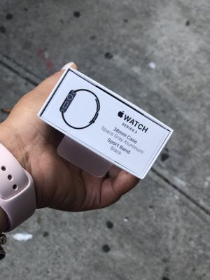 Apple watch Serie 3 38MM GPS ONLY NEW for Sale in The Bronx, NY