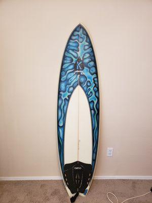 **Matt Kechele surfboard 6'1 stub fish for Sale in Lockhart, FL