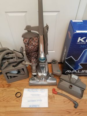 NEW cond KIRBY SENTRIA2 VACUUM WITH COMPLETE ATTACHMENTS, ZIP BRUSH, SHAMPOO SYSTEM, AMAZING POWER SUCTION, for Sale in Federal Way, WA