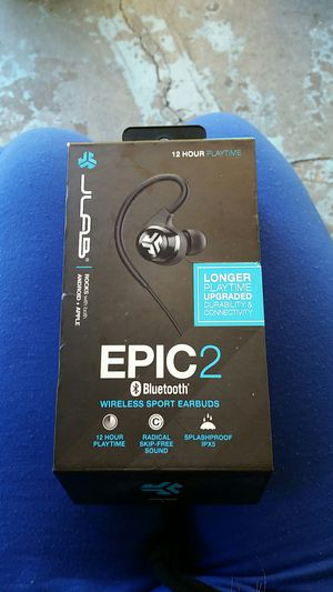 Epic 2 Bluetooth wireless earbuds for Sale in Nashville, TN
