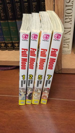 Full moon manga 1 2 5 7 for Sale in San Antonio, TX