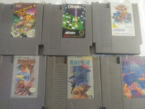 Classic nes an snes video games an accessories for Sale in Dearborn, MI