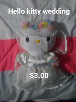 Hello kitty wedding for Sale in Hesperia, CA
