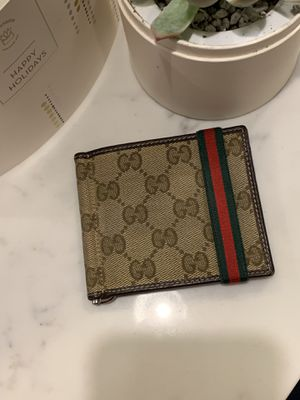 Gucci wallet/money clip for Sale in Jersey City, NJ