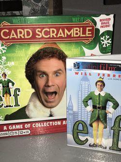 Elf DVD & Board Game for Sale in Santa Teresa,  NM