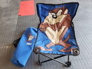 Kids folding bag chair for Sale in St. Louis, MO