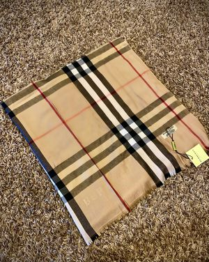 Burberry scarf new with tags for Sale in Edmond, OK