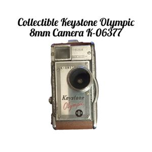 Keystone Olympic 8mm Camera K-06377. Uses Kodachrome 8mm film. SHIPPING ONLY!!! 😉 for Sale in Colorado Springs, CO
