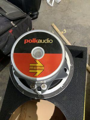 Polk Audio 10in Subwoofer for Sale in Kearns, UT