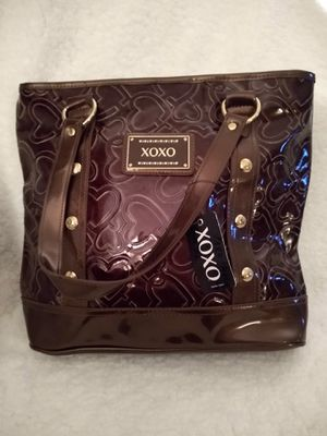 XOXO Brown Patent Leather Bag NWT for Sale in Alexandria, VA