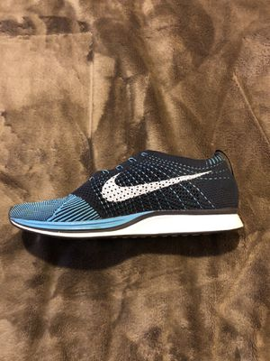 New Nike Flyknit Racer Size 11.5 blue and sky blue color for Sale in Los Angeles, CA