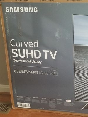 """Samsung 55"""" curve smart tv no picture screen cracked $150 for Sale in Baltimore, MD"""