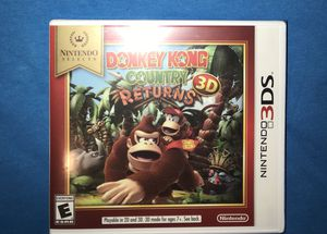 Donkey Kong Returns Nintendo 3ds Brand New Sealed for Sale in San Diego, CA