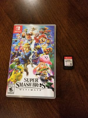 Super Smash for Nintendo switch for Sale in Niles, IL