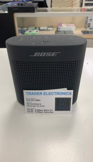 Bose SoundLink Color ii (Black) for Sale in Pittsburgh, PA
