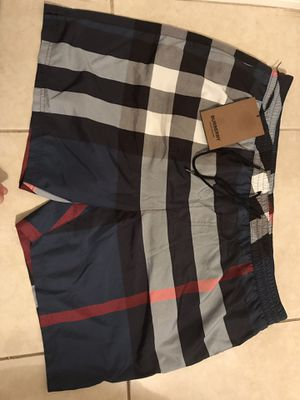 Men's Burberry bathing suite for Sale in Clearwater, FL