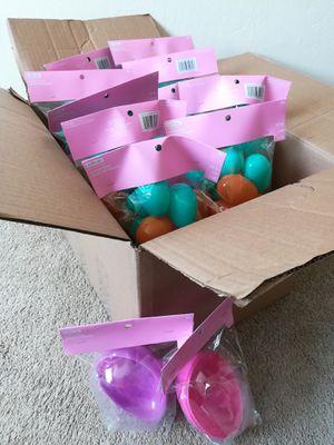 HUGE BOX OF PLASTIC EASTER EGGS for Sale in Sunnyvale, CA