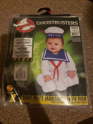 Baby Halloween costume Ghostbusters stay puft for Sale in Philadelphia, PA