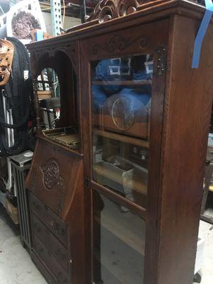Desk, (secretary/bookcase) Vintage for Sale in Fort Lauderdale, FL