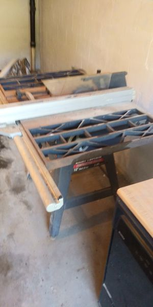 Craftsman contractor series table saw for Sale in Pittsburgh, PA