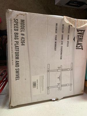 EVERLAST speed bag platform and swivel-brand new for Sale in Walnut, CA