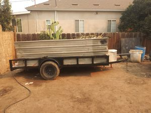 Flat bed trailer for Sale in Cutler, CA