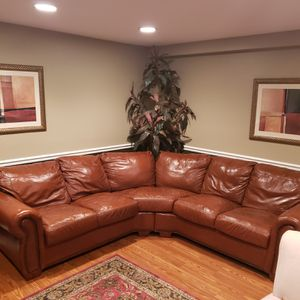 Leather Sofa for Sale in Manasquan, NJ