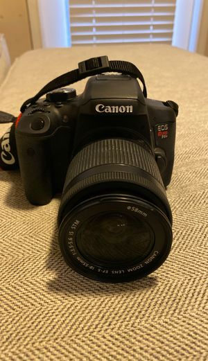 CANON CAMERA EOS REBEL T6i for Sale in Midland, TX