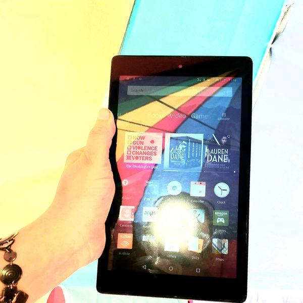 "Amazon All-New Fire HD 8 Tablet with Alexa 8"" HD Display 16 GB Black"