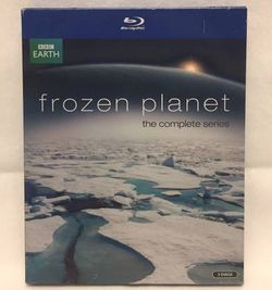 Frozen Planet The Complete Series Blu-Ray 3 disc set David Attenborough Arctic for Sale in Phoenix,  AZ