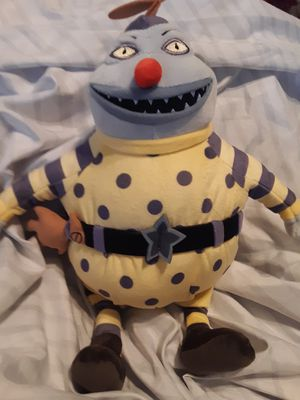 """Disney Nightmare before Christmas. """"The CLOWN """"plush doll for Sale in Rialto, CA"""