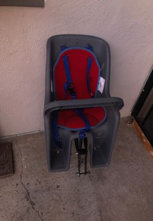 Bell bicycle kid carrier. Used it when my kid was 2 and 3 years old. for Sale in San Jose, CA