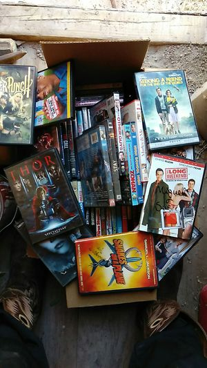 Box of movies different genres most comedy for Sale in Odessa, TX