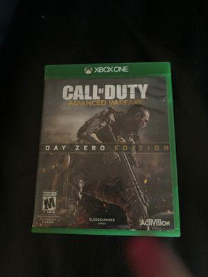 Call of Duty Advanced Warfare Xbox 1 for Sale in Chula Vista, CA
