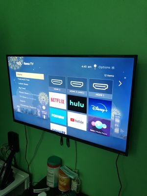 """TCL 43"""" 4K UHD HDR ROKU SMART TV for Sale in Brooklyn, NY"""