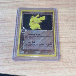 Secret Rare Holo Pikachu Pokemon EX Legend Maker Card 93/92 for Sale in Stockton,  CA