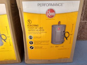 Rheem 2.5 Gallon Point of Use Water Heater for Sale in Las Vegas, NV
