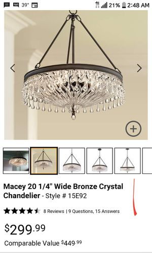 Crystal Chandelier for Sale in Arlington, TX