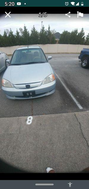 2003 Honda Civic Hybrid for Sale in Ludowici, GA